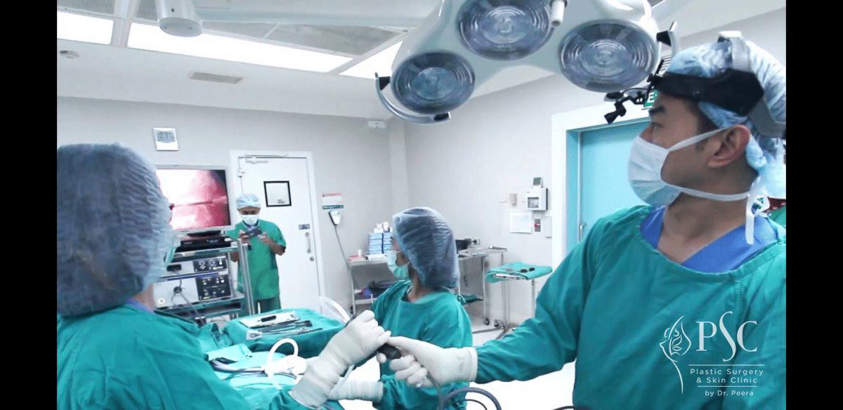 ห้องศัลยกรรมเสริมหน้าอก PSCClinic