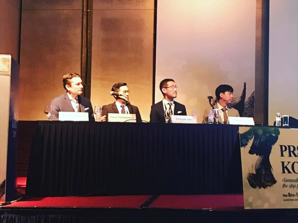 PSC 35 - คุณหมอพีระ ได้รับเชิญเป็นวิทยากรบรรยายเกี่ยวกับการเสริมหน้าอก  ในงาน PRS KOREA 2019 ณ ประเทศเกาหลีใต้
